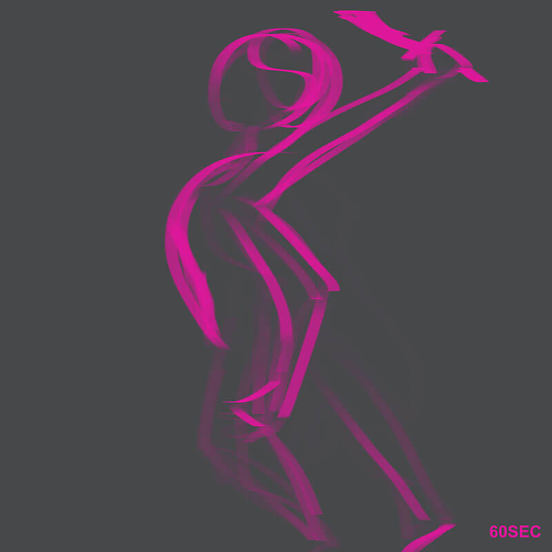 Learning Digital Painting Day 002 - Gesture Drawing