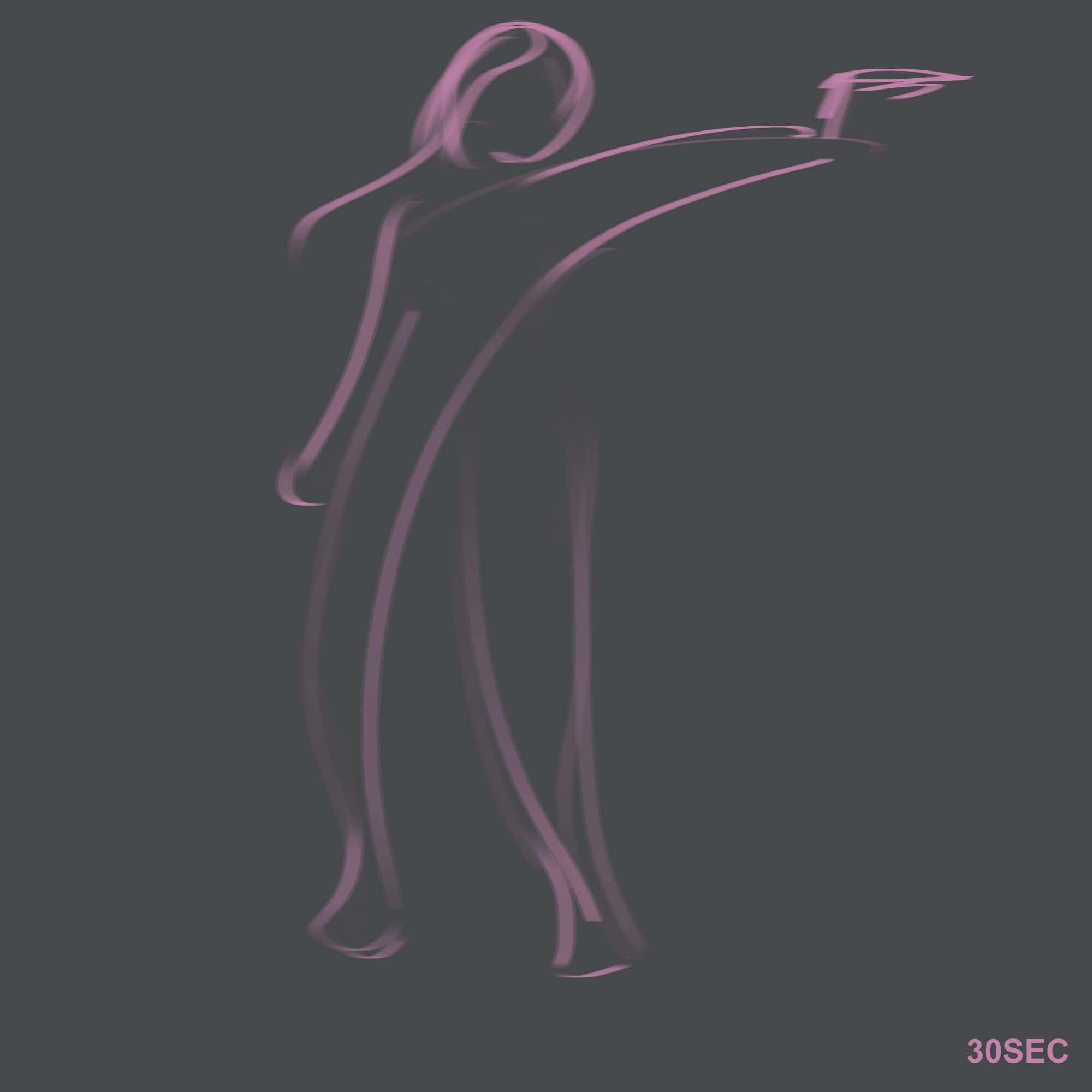 Learning Digital Painting Day 012 - Gesture Drawing