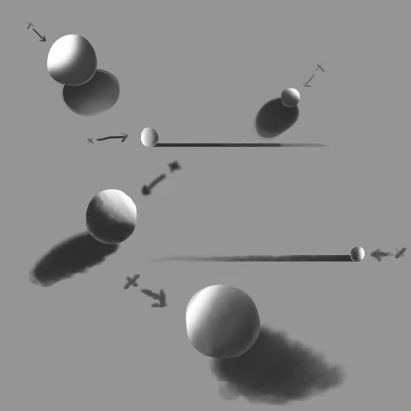 Learning Digital Painting Day 015 - Sketching Spheres
