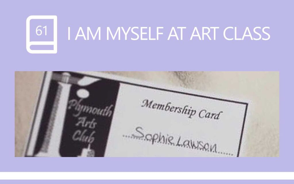 I Am Myself At Art Class - Coming Out as Transgender, with Transgender Model & Artist Sophie Lawson