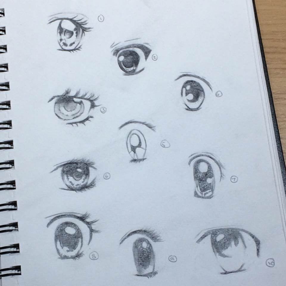 Female Manga Eyes - Learning Digital Painting with Transgender Artist Sophie Lawson