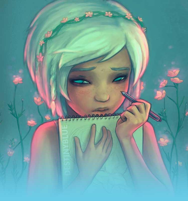 Inspirational Artist - Destiny Blue
