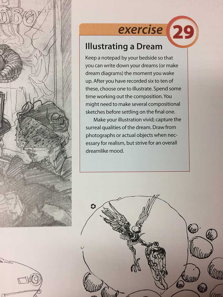 Keys To Drawing With Imagination, by Bert Dodson - Book Review Page 4, by Transgender Artist Sophie Lawson