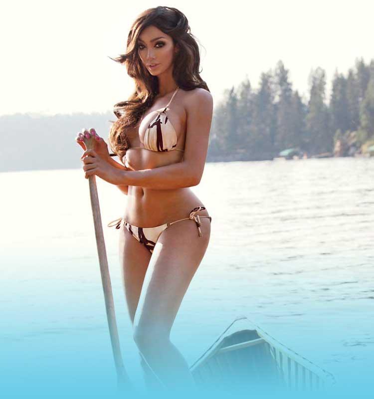 Inspirational model - Yasmine Petty