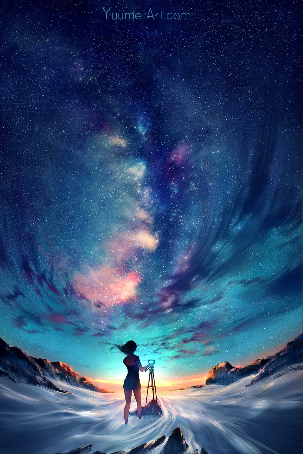 Capture The Sky by Artist Wenqing Yan, aka Yuumei