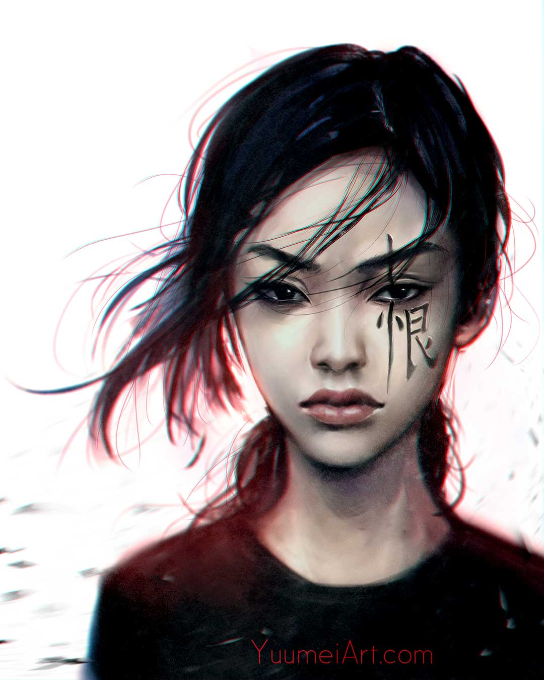 Contempt by Artist Wenqing Yan, aka Yuumei