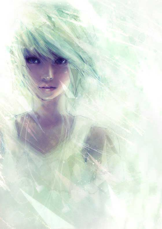 Inspirational Digital Painting that's currently untitled, but it's by Digital Artist Wataboku