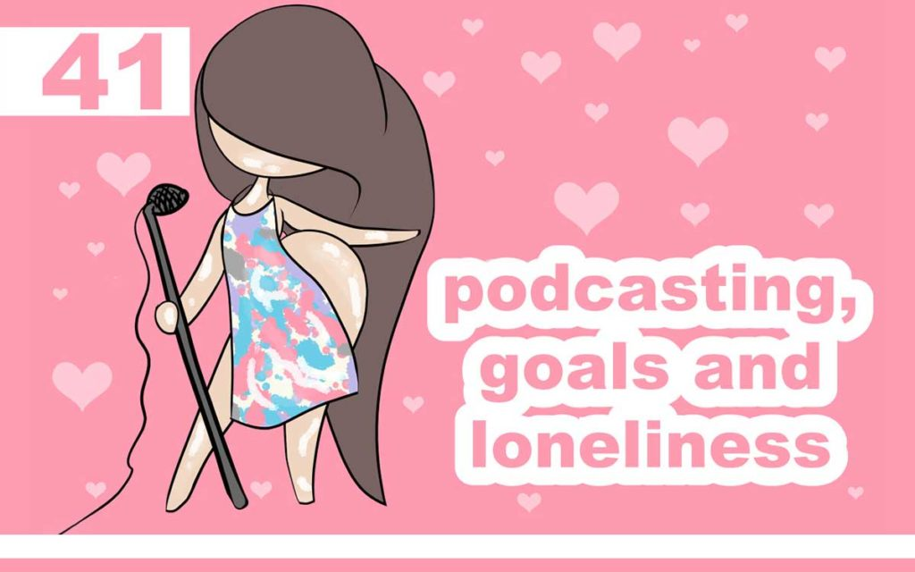 So Free Art Podcast Episode 41 - Podcasting, Goals and Loneliness ... with Transgender Artist Sophie Lawson