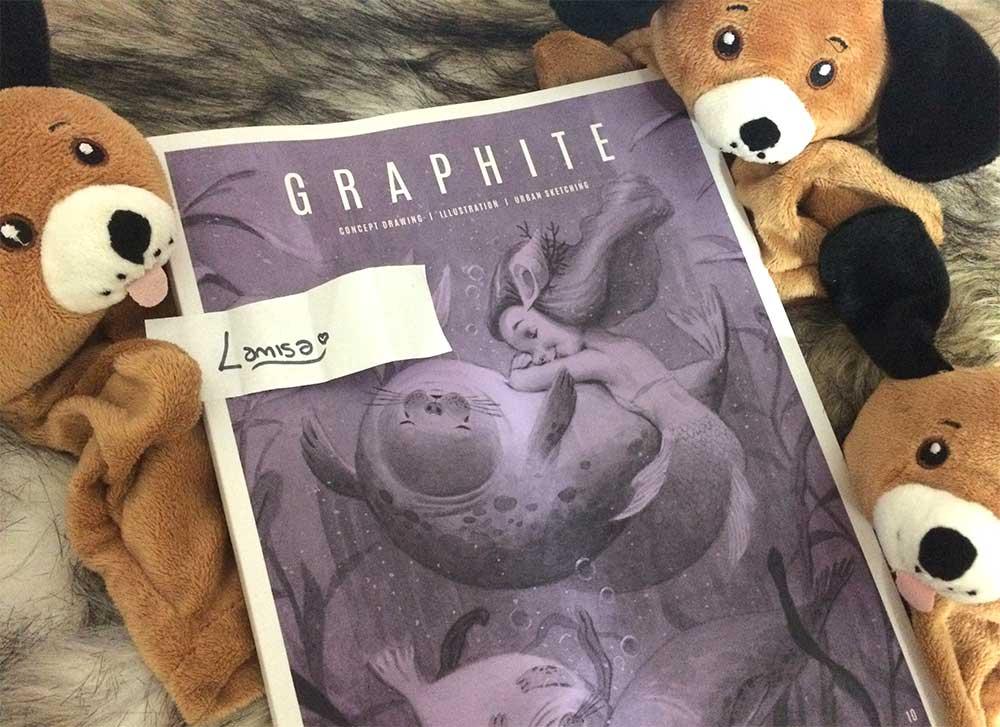 Dennis The Doggy - Graphite Magazine Issue 10