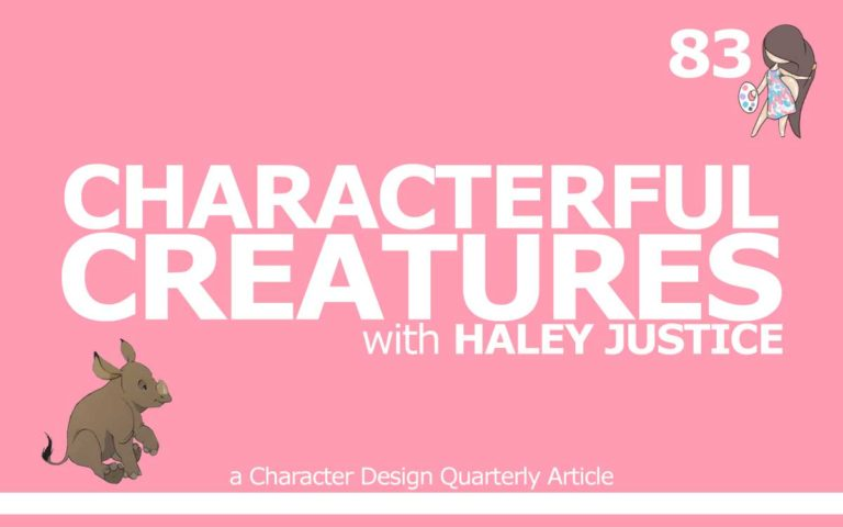 83 – CDQ ARTICLE 'CHARACTERFUL CREATURES, WITH HALEY JUSTICE'