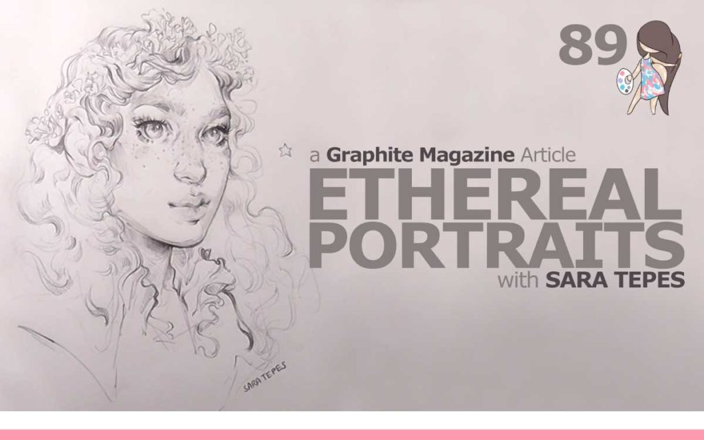 GRAPHITE MAGAZINE ARTICLE 'ETHEREAL PORTRAITS, WITH SARA TEPES' : Episode 89 of the So Free Art Podcast, with Transgender Artist Sophie Lawson