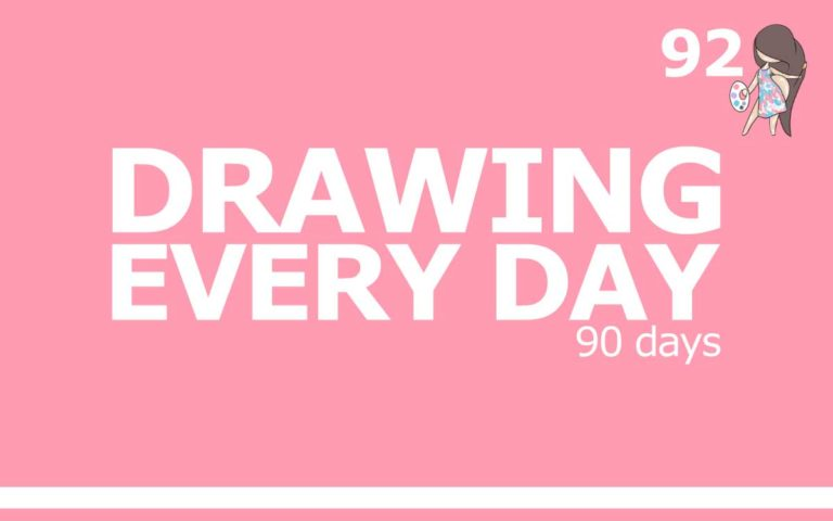 DRAWING EVERY DAY FOR A YEAR - 90 DAYS : Episode 92 of the So Free Art Podcast, with Transgender Artist Sophie Lawson