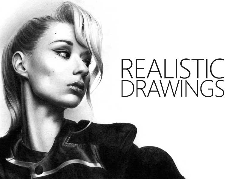 Realistic Pencil Drawings by Transgender Artist Sophie Lawson