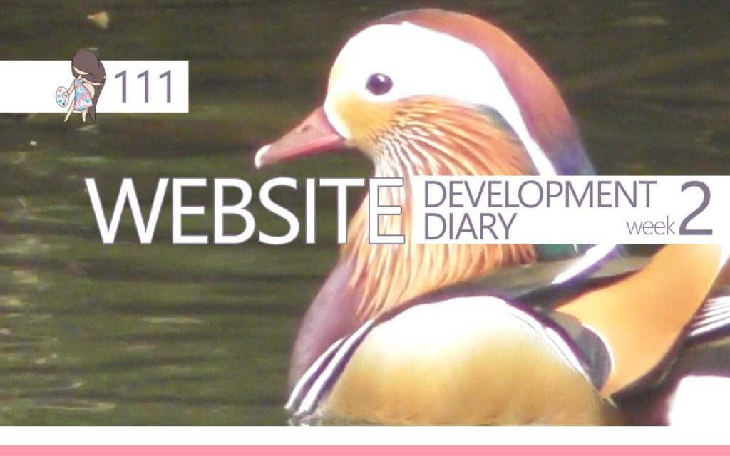 WEBSITE DEVELOPMENT DIARY week two : Episode 111 of the So Free Art Podcast, with Transgender Artist Sophie Lawson
