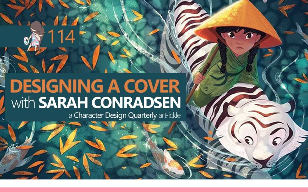 DESIGNING A COVER with SARAH CONRADSEN - a Character Design Quarterly Article : Episode 114 of the So Free Art Podcast, with Transgender Artist Sophie Lawson