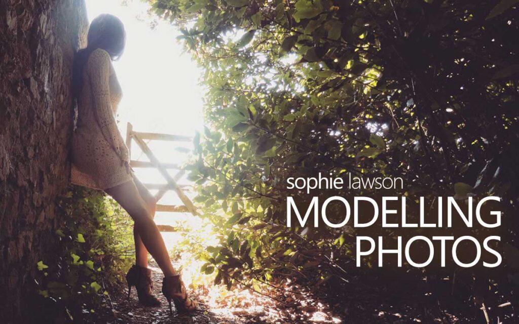Modelling Photos, with Transgender Model Sophie Lawson