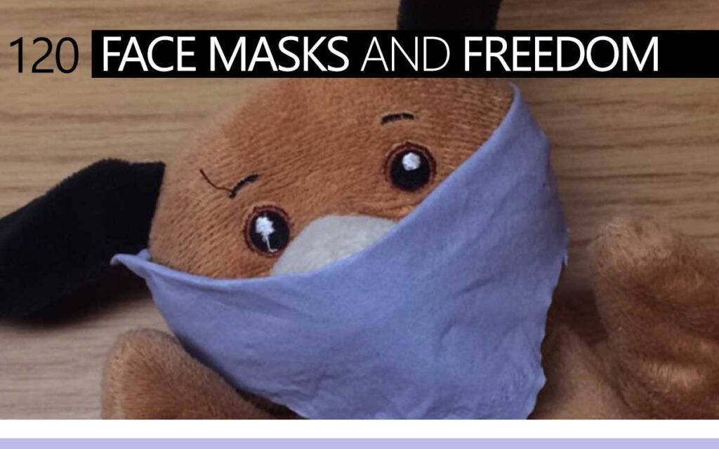 Face Masks and Freedom : Episode 120 of the So Free Art Podcast, with Transgender Artist Sophie Lawson