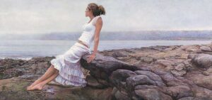 At the Edge of So Many Tomorrows by Artist Steve Hanks