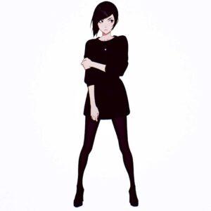 Black Dress by Inspirational artist Ilya Kuvshinov