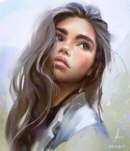 CindyM by Artist Aleksei Vinogradov