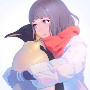 Emperor Penguin by Inspirational artist Ilya Kuvshinov