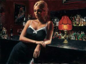 English Rose VIII by Inspirational Artist Fabian Perez