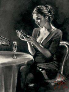 Eugenia by Inspirational Artist Fabian Perez