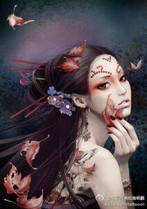 Fade Jade by Artist Zhang XiaoBai