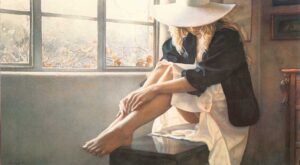 Felt Hat by Artist Steve Hanks