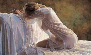 Forever a Mystery by Artist Steve Hanks