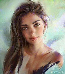 Joanna by Artist Aleksei Vinogradov