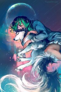 Love You To The Moon and Back by Artist Yuumei, aka Wenqing Yan