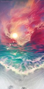 Meet the Sea by Artist Yuumei, aka Wenqing Yan