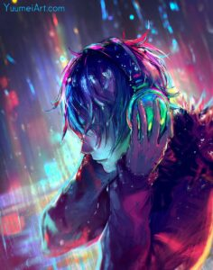 Muted Sound by Artist Yuumei, aka Wenqing Yan