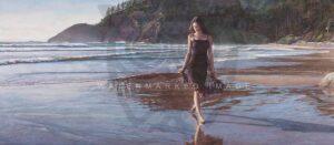 Northwest Coastline by Artist Steve Hanks