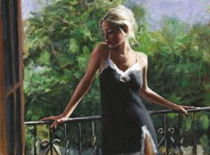Sally in the Sun II by Inspirational Artist Fabian Perez
