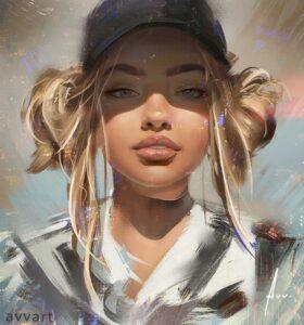 Sophia by Artist Aleksei Vinogradov