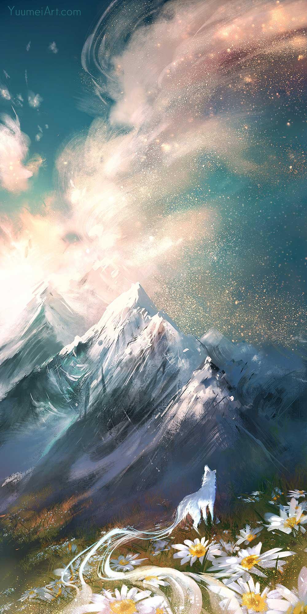 Star Spray by Artist Yuumei, aka Wenqing Yan