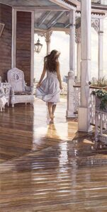 Sunshine After the Rain by Artist Steve Hanks