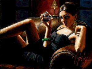 Tess VIII by Inspirational Artist Fabian Perez