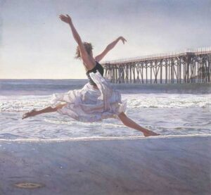 To Dance Before the Sea and Sky by Artist Steve Hanks