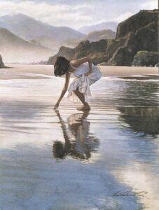 Treasures on the Shore by Artist Steve Hanks