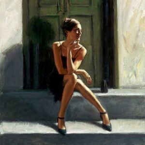 Waiting for the Romance to Come Back - Lucy by Inspirational Artist Fabian Perez
