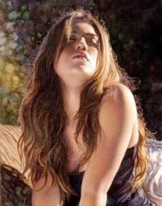 Youthful Passion by Artist Steve Hanks