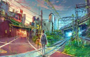 At the Crossroads by Artist Yuumei, aka Wenqing Yan