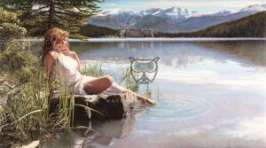 Canadian Beauty by Artist Steve Hanks