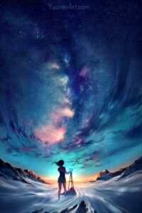 Capture the Sky by Artist Yuumei, aka Wenqing Yan