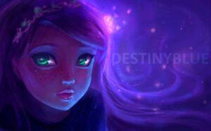 Contemplation by Artist DestinyBlue