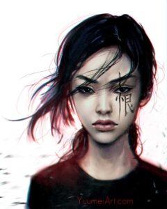 Contempt by Artist Yuumei, aka Wenqing Yan