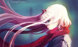 Darling in the Dranxx Zero Two by Artist Yuumei, aka Wenqing Yan